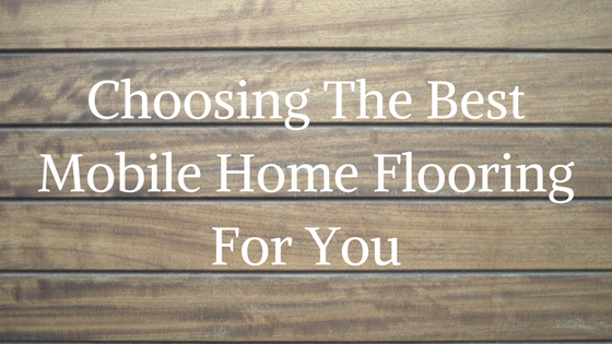 Mobile Home Flooring Basic Components Parts And