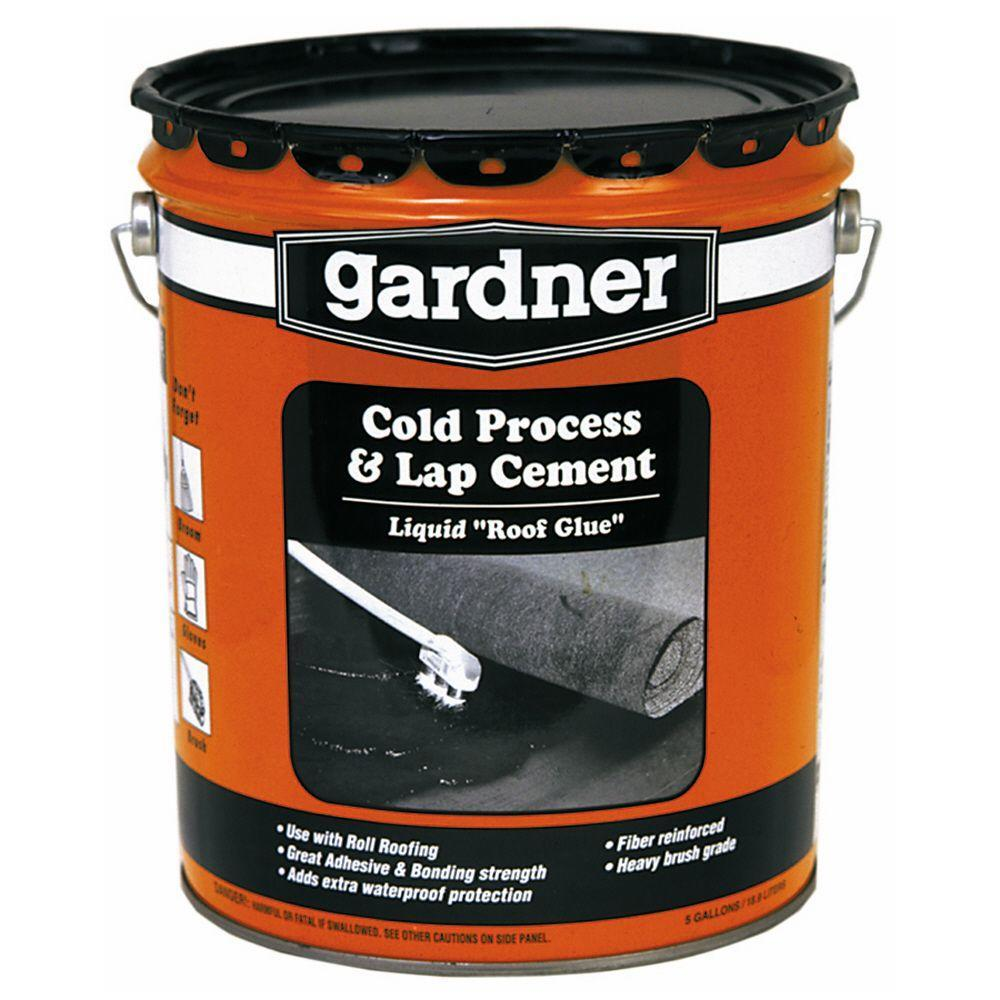 Roll On Liquid Flooring : Gardner roll roofing adhesive basic components
