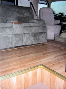 New Flooring for RV Remodel Project