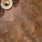 Terracotta Slate Luxury Vinyl Tile