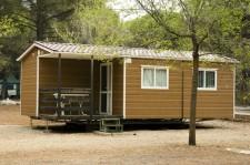 mobile home winter