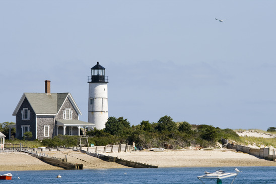 Lighthouse And Home At Cape Cod Basic Components Parts
